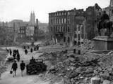 Bavarian City of Nuremberg Following its Capture by US Army in a Battle of April 17-21  1945