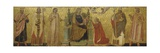 Mystic Marriage of Saint Catherine and Saints  14th C