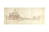 Santa Maria Della Salute and the Grand Canal  Venice