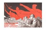 Soviet World War 2 Poster  1941