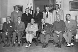 President Truman's Second Term Cabinet on Aug 15  1949