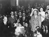 First Lady Eva Peron  Distributing Gifts to Children at the Eva Peron Foundation