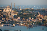 View on the City of Istanbul in Turkey