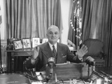 Truman Delivers a Radio and Television Address About a United Nations Arms Reduction Proposal