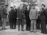 Allied Leaders and Delegates at the Teheran Conference  Dec 1943
