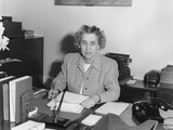Rose Conway  Secretary to President Harry Truman  at Her Desk in the White House