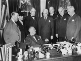 President Roosevelt  Meets US Delegates to United Nations Conference in San Francisco