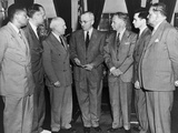 President Truman with Members of the National Emergency Against Mob Violence