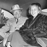 President Harry Truman and Daughter Margaret Returning from a Trip to Key West  Florida