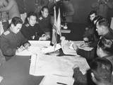 Panmunjom Cease Fire Talks in Oct 11  1951