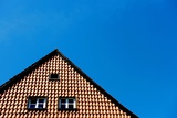 The Gable of a Residential House