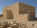 Castle of Al-Hallabat (Qasr Al-Hallabat)  4th-8th Century  Exterior with Arched Openings