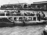 Boatload of Jewish Children Arriving in Tel Aviv on April 12  1946
