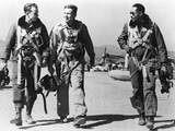 F-51 Pilots Returning from a Mission During the Korean War