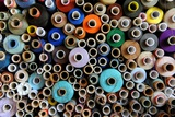 Colourful Reels of Thread