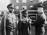 African American Soldiers  Julius Robertson and Richard Langley Honored