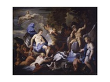 Triumph of Galatea  Copy after Luca Giordano  1675-76