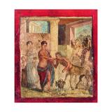 Centaurs at King Pirithous' Wedding to Hippodamia  C 45-79