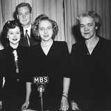 Margaret Truman Conducted a Broadcast from the White House as Part of the March of Dimes Campaign