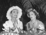 Pat Nixon and Actress Joan Crawford at Political Event  April 4  1960 - (Bsloc 2014 14 47)