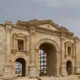Hadrian's Arch  Jerash  Jordan  129