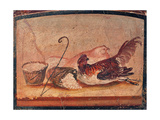 Chicken with Legs Tied and Spilled Basket  C 45-79
