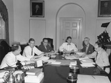 The Council of Economic Advisers and White House Staff Prepare Truman's Midyear Economic Report