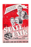 State Fair  from Top: Dana Andrews  Jeanne Crain  Vivian Blaine  Dick Haymes  1945