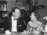 First Lady Mamie Eisenhower and Actor John Wayne at Political Dinner  June 8  1959