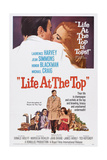 Life at the Top  Laurence Harvey (Bottom Center)  Jean Simmons (Bottom Right)  1965