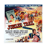 Jubilee Trail  Bottom Right: Forrest Tucker  Vera Ralston  1954