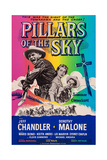 Pillars of the Sky  from Left: Jeff Chandler  Dorothy Malone  Keith Andes  1956