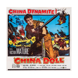 China Doll  from Center: Victor Mature  Li Li Hua  1958
