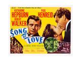 Song of Love  from Left: Robert Walker  Katharine Hepburn  Paul Henreid  1947