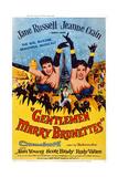 Gentlemen Marry Brunettes  from Left: Jane Russell  Jeanne Crain  1955