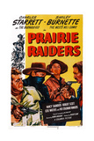 Prairie Raiders  Charles Starrett (Masked)  Smiley Burnette  Hugh Prosser  1947