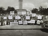 African Americans Demonstrate Against Segregation at the University of Texas  Austin