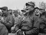 Soldiers Laughing to the Bob Hope Show at Seoul  Korea Oct 23  1950
