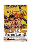 Valley of the Sun  from Left: James Craig  Lucille Ball  1942