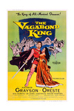 The Vagabond King  from Left: Oreste Kirkop  Kathryn Grayson  1956