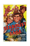 Stardust on the Sage  from Left: Louise Currie  Gene Autry  Smiley Burnette  1942