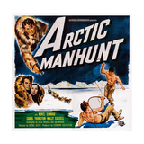Arctic Manhunt  Bottom Left: Mikel Conrad  Carol Thurston  1949