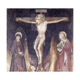 Crucifixion  Virgin  Sts John Evangelist  Mary Magdalen