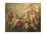 Venus and Psyche Among the Olympian Gods