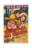 Heart of the Rio Grande  from Left: Gene Autry  Smiley Burnette  Fay Mckenzie  1942