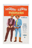 Pardners  L-R: Dean Martin  Jerry Lewis  1956