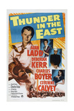 Thunder in the East  from Top Left: Alan Ladd  Deborah Kerr  Charles Boyer  Corinne Calvet  1952