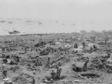 Marines in Foxholes on the Southeast Edge of Motoyama Airfield 1  Iwo Jima