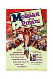 Morgan  the Pirate  (Aka Morgan Il Pirata)  Steve Reeves (Center with Knife)  1960