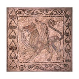 Griffin  Fragment of Mosaic Floor